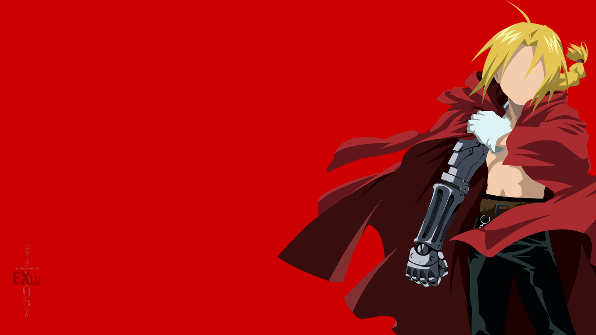 Edward Elric (Fullmetal Alchemist) minimalist by ExLu on DeviantArt