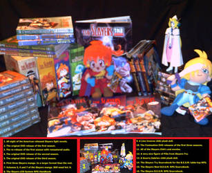 My Slayers Collection by EmperorSidious