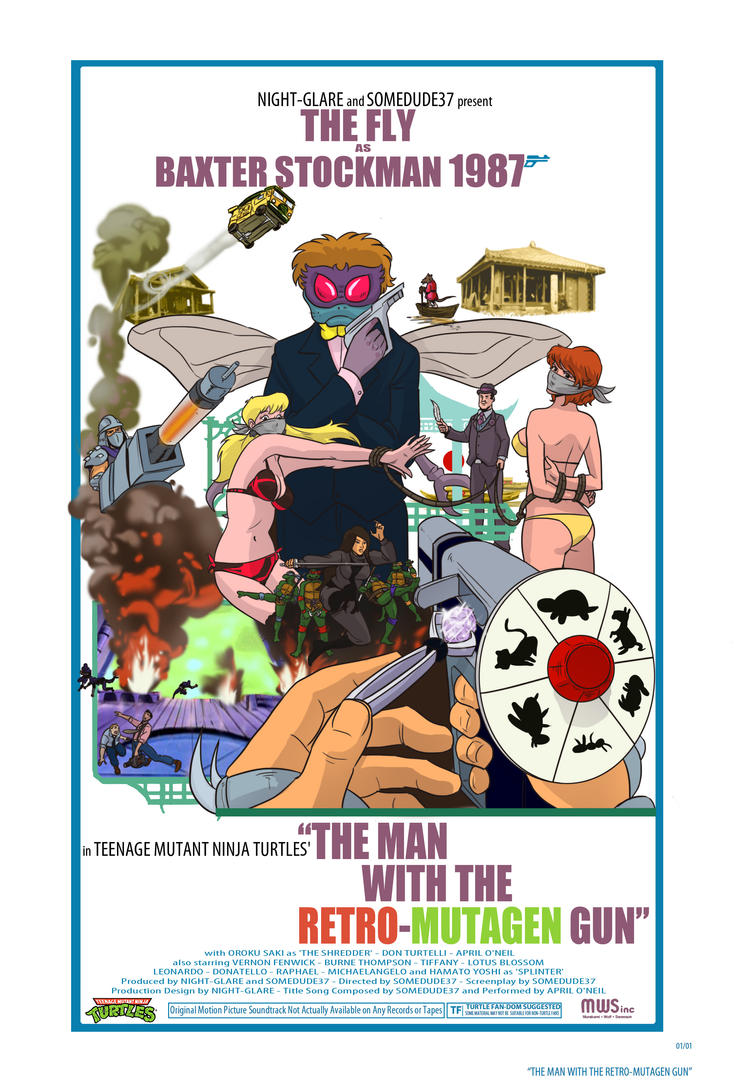 The man with the retromutagen gun poster by night-glare
