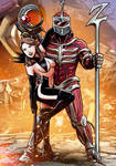 Queen Kimberly and Lord Zedd