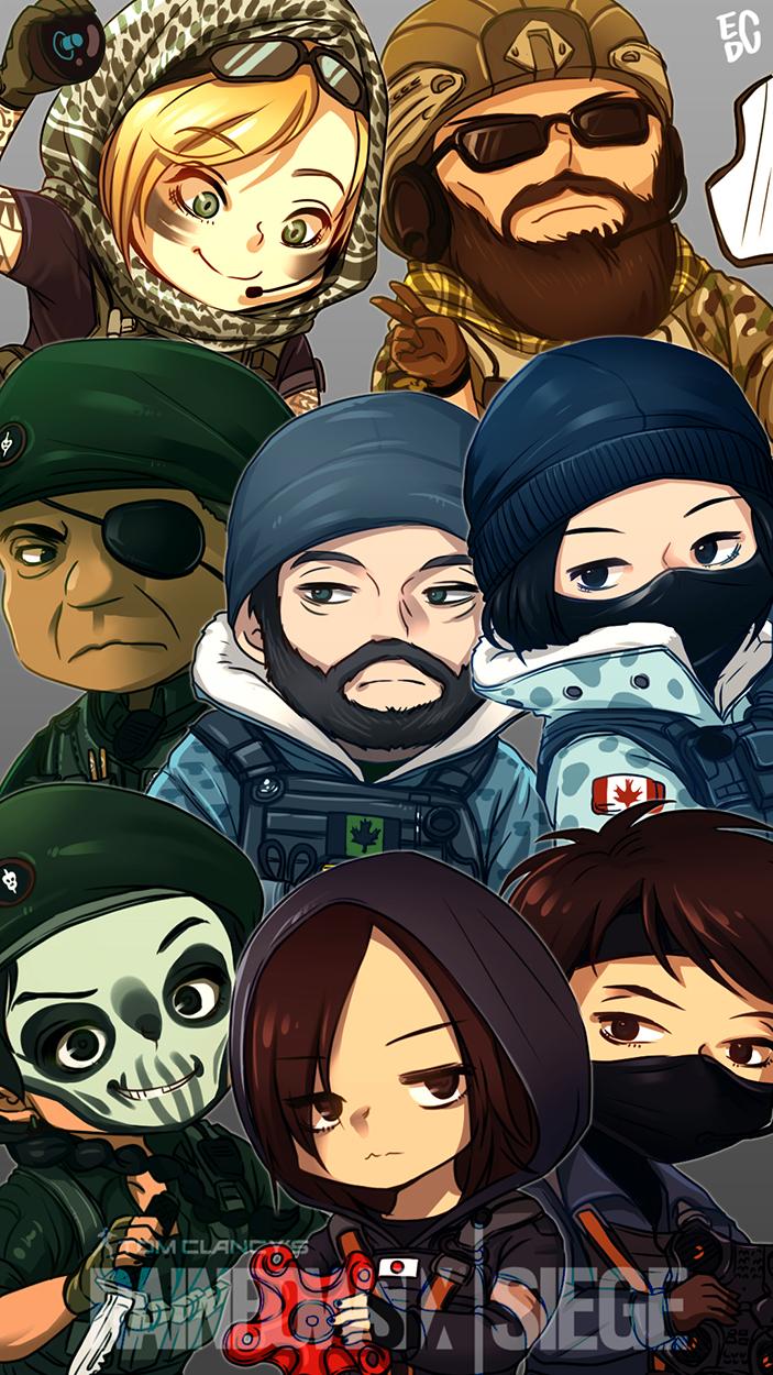 R6 Siege by EDICH-art on DeviantArt