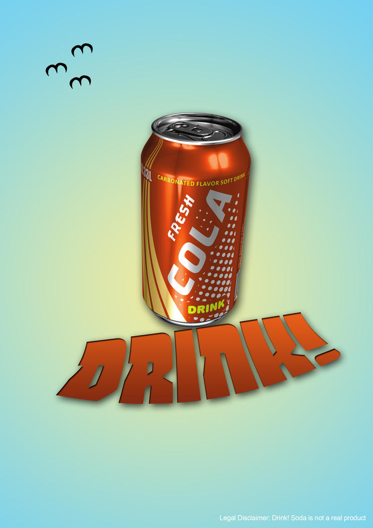 Sample Ad (Cola) #2 by Jokerinc