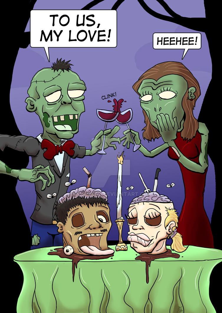 Zombie Love by Jokerinc