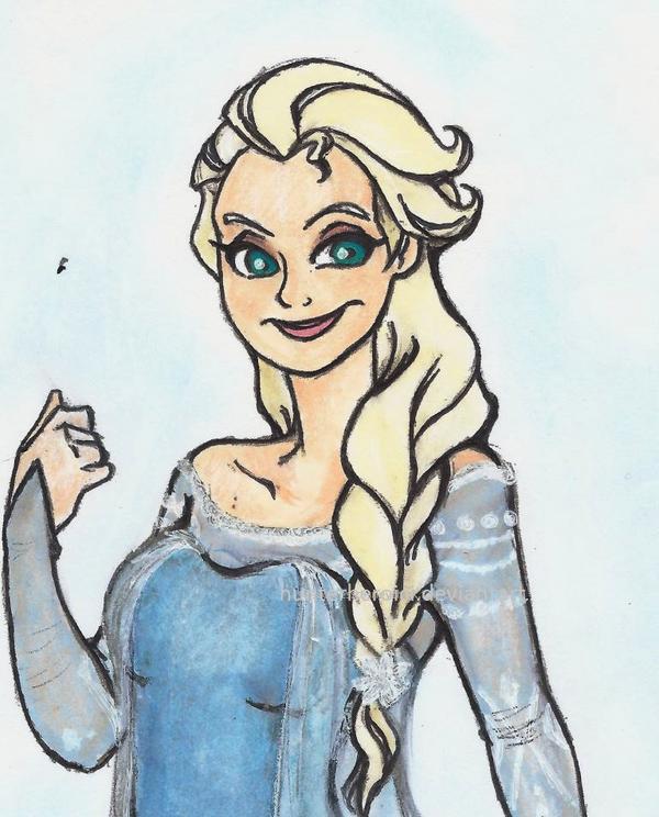 the snow queen by HunterHeroici