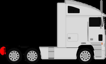 Freightliner FLA Set Back Axle 1987-1996