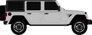 Jeep Wrangler 4 Door Hard Top 2018-pre