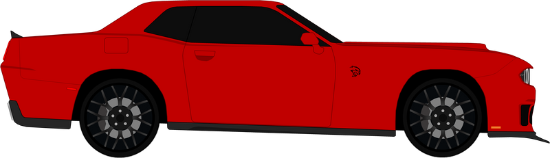 Dodge Challenger SRT Hellcat 2020 by Lambo9871