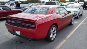 Dodge Challenger (1) rear
