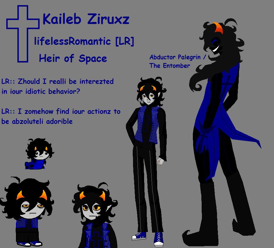 Anime Character Quirks : Homestuck oc kaileb ziruxz by lifelessromantic on deviantart
