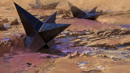 The 3 Black Relics of Titan