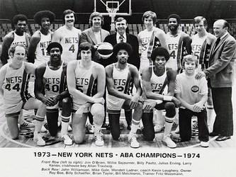 1973-74 New York Nets by danwind