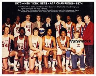 1973-74 New York Nets 2 by danwind