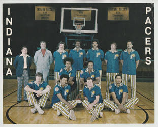 1973-74 Indiana Pacers by danwind