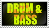 Drum N Bass Stamp by KiwiHusky