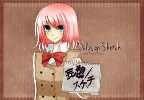 Asuka- Mousou Sketch by NamieyXcarletLaytis