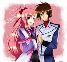 Fanarts_GSD_: Kira x Lacus