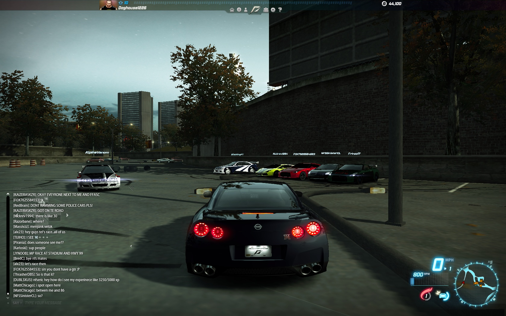 nfs world online