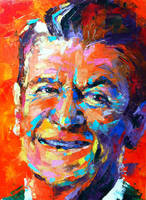 Esteemed Leader-Ronald Reagan -- SOLD by tilenti