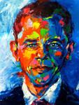Esteemed Leader-Barack Obama by tilenti