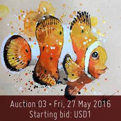 Auction 03-Clown Fish
