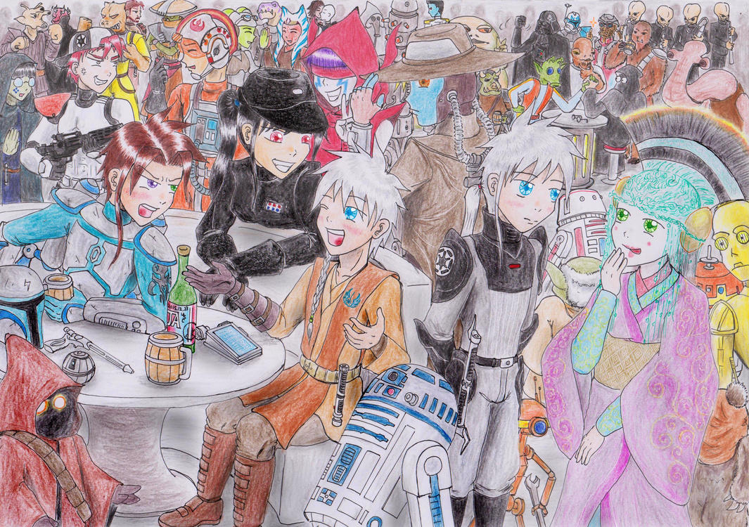 STARWARS Cantina by UnknownSoulCollector