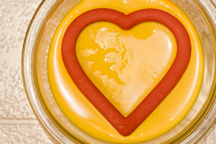 Yogurt Study - Yellow and Red by amarand