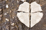 Stone Cross Heart