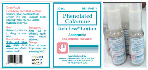 Phenolated Calamine Lotion Label by carmel5530