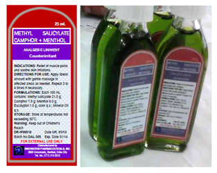 Analgesic Liniment Label by carmel5530