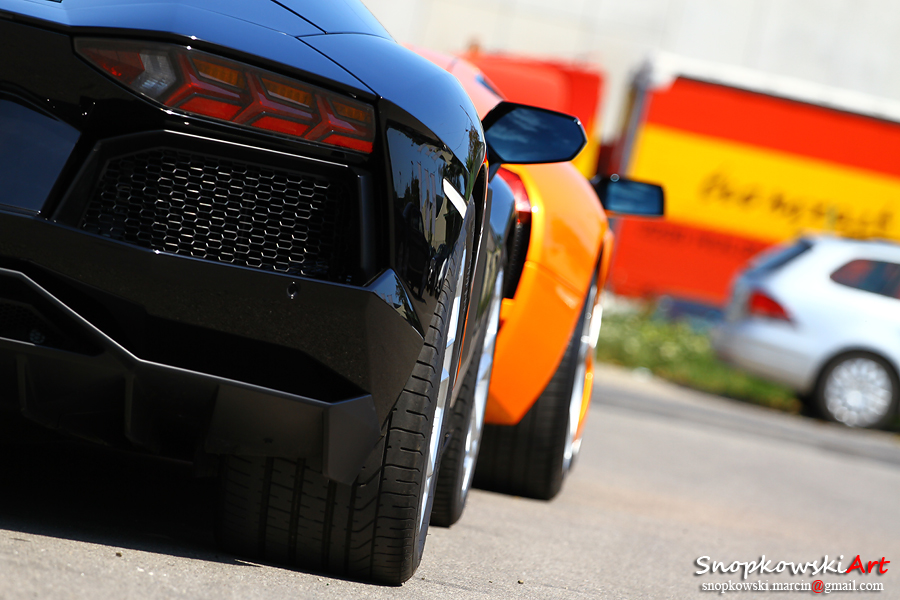 Lamborghini Aventador by SestoElemento