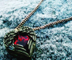 Pendant of our Love by TheMateriaMaster