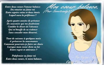 Mon coeur balance. by Kojiana