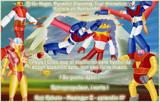 Words by heroes (2) - Mazinger Z