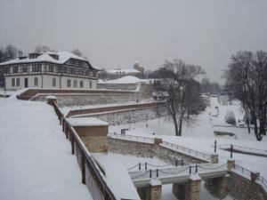 Kalemegdan during winter