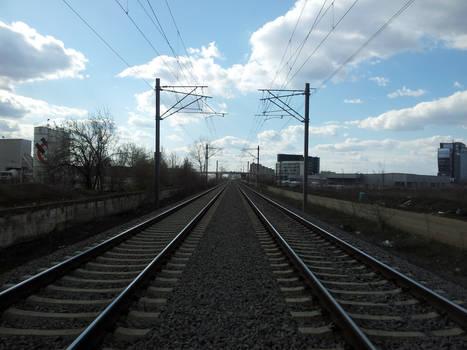 Speed line nearing Bucharest