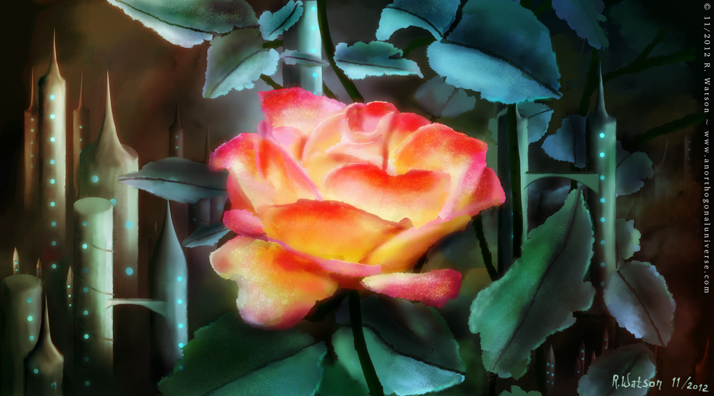 Rose City by merrak