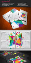 Color Explosion Business Card by KaixerGroup