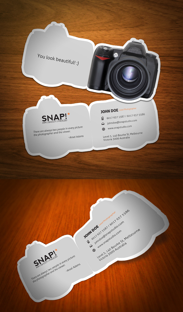 SNAP Business Card by KaixerGroup on DeviantArt