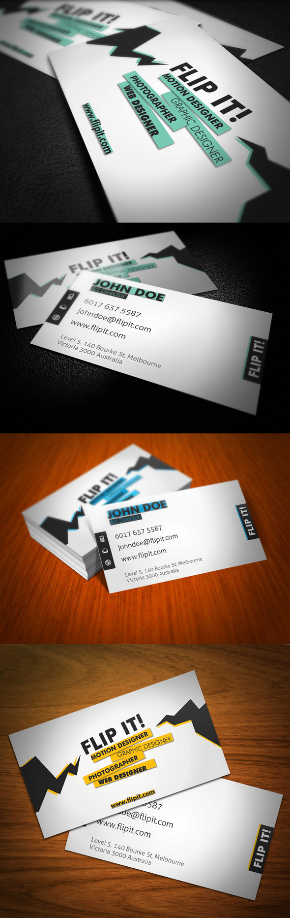 FLIPT IT Business Card by KaixerGroup