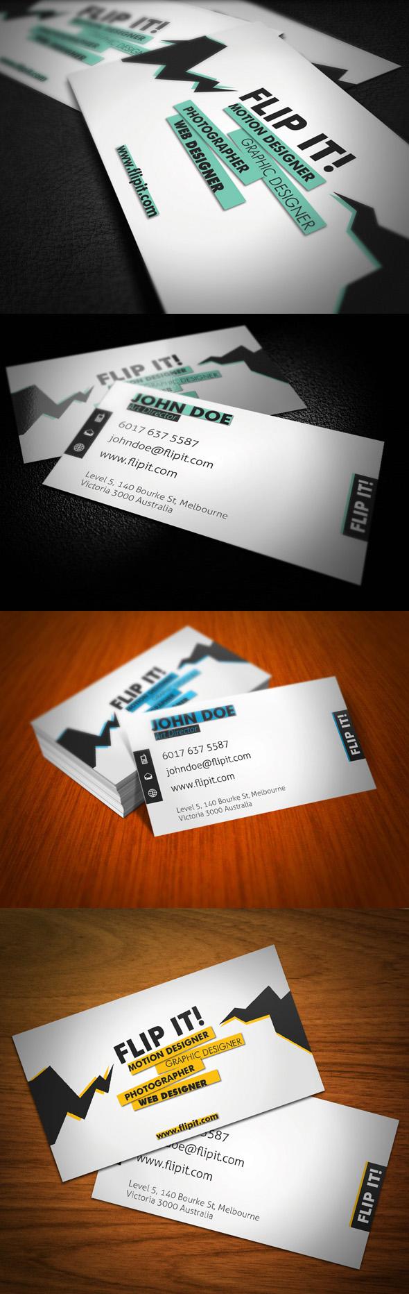 FLIPT IT Business Card