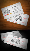 Juicy Brain Business Card FULL by KaixerGroup