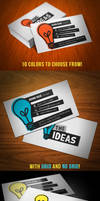 Ideas Business Card by KaixerGroup
