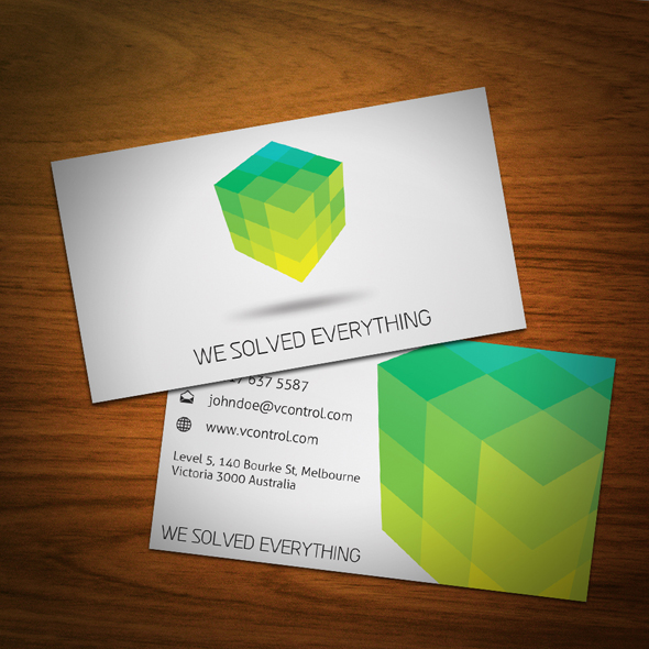 Cubic Business Card 02 by KaixerGroup