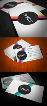Smart Stripes Business Card