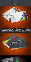 JK Color WAVE Business Card