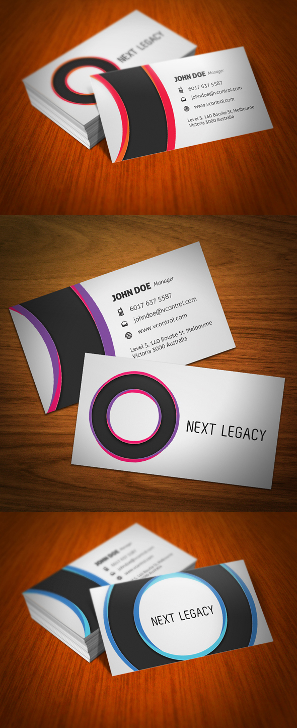 Circles Business Card by KaixerGroup