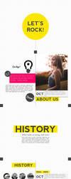Fancy ScrollRock - PowerPoint Template by KaixerGroup