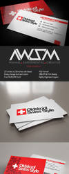 Oldskool Swiss Style Business Card by KaixerGroup