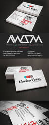 Classica Vision Business Card by KaixerGroup