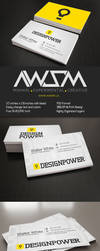 Design Power Business Card by KaixerGroup